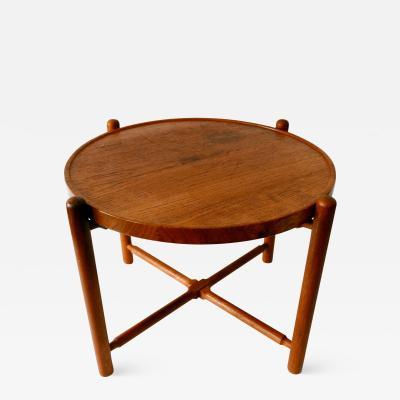 Hans Wegner Folding Tray Coffee Table AT35 by Hans Wegner for Andreas Tuck 1960s