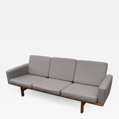 Hans Wegner GE 236 Three Seat Sofa by Hans Wegner for GETAMA