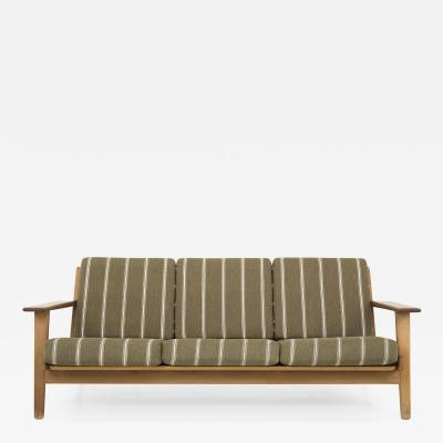 Hans Wegner GE 290 3 Person Sofa in Oak