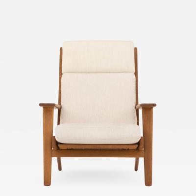 Hans Wegner GE 290A Easy chair in oak
