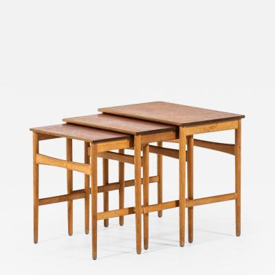 Hans Wegner HANS WEGNER NESTING TABLES