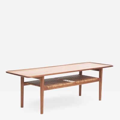 Hans Wegner HANS WEGNER TEAK COFFEE TABLE MODEL AT 10