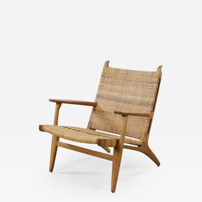 Hans Wegner Hans J Wegner CH 27 Lounge Chair Denmark 1950s