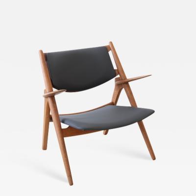 Hans Wegner Hans J Wegner Danish Modern Sawbuck Chair Ch28