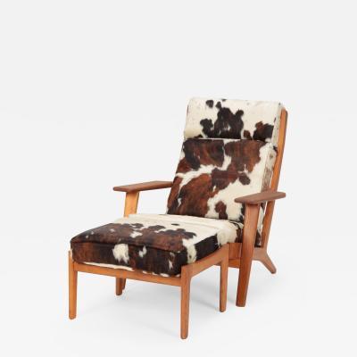 Hans Wegner Hans J Wegner GE 290 Lounge Chair GETAMA 60 s