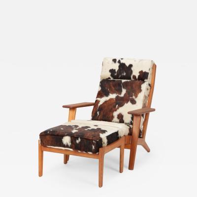 Hans Wegner Hans J Wegner GE 290 Lounge Chair Getama 60s