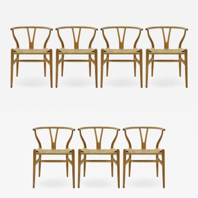 Hans Wegner Hans J Wegner Model CH 24 Dining Chairs 1950