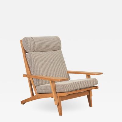 Hans Wegner Hans J Wegner Oak Lounge Chair