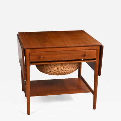 Hans Wegner Hans J Wegner Sewing Table Model AT 33