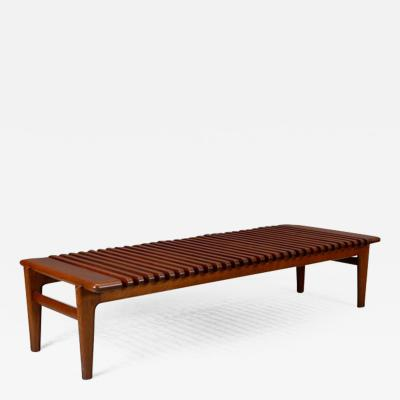 Hans Wegner Hans J Wegner Slatted Bench or Coffee Table 1950s