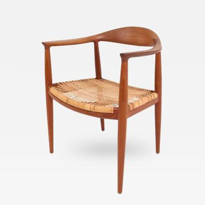 Hans Wegner Hans J Wegner The Chair in oak and cane