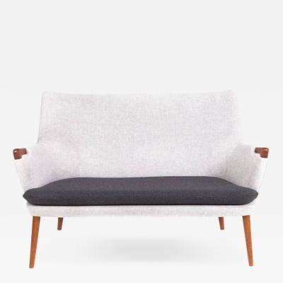 Hans Wegner Hans J Wegner Two Seater Sofa Model Ap 20
