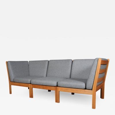 Hans Wegner Hans J Wegner for Getama Modular sofa three seater model GE280 3