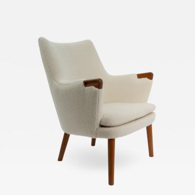 Hans Wegner Hans Wegner AP20 Mini Bear Lounge Chair Denmark 1950s