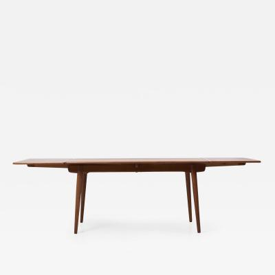 Hans Wegner Hans Wegner AT 312 Dining Table in Oak for Andreas Tuck Denmark 1950s