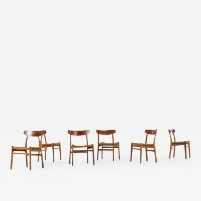 Hans Wegner Hans Wegner CH 23 dining chairs