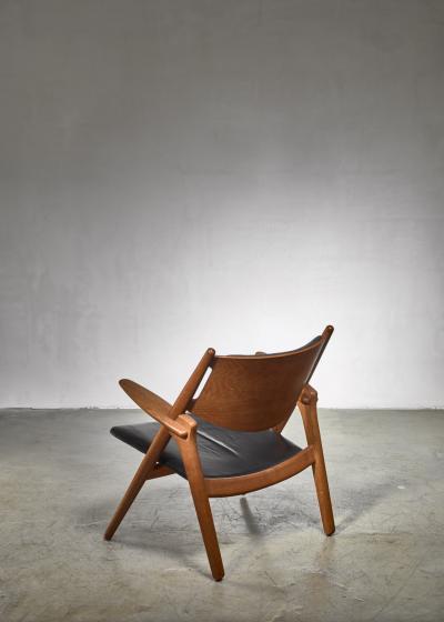 Hans Wegner Hans Wegner CH 28 or Sawbuck chair for Carl Hansen