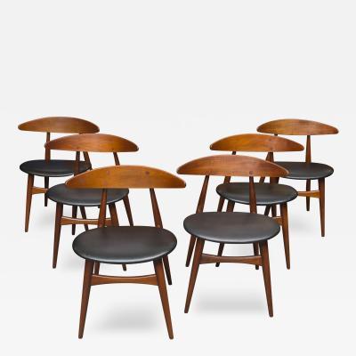 Hans Wegner Hans Wegner CH 33 Dining Chairs
