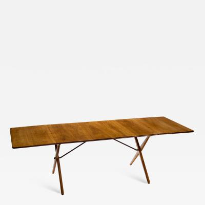 Hans Wegner Hans Wegner Drop leaf Dining Table Model AT 309 Denmark 1950s