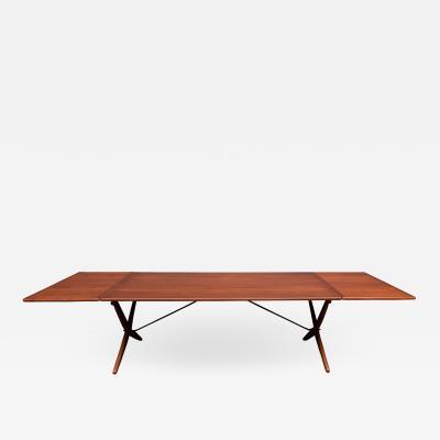 Hans Wegner Hans Wegner Saber Leg Dining Table Model AT 314