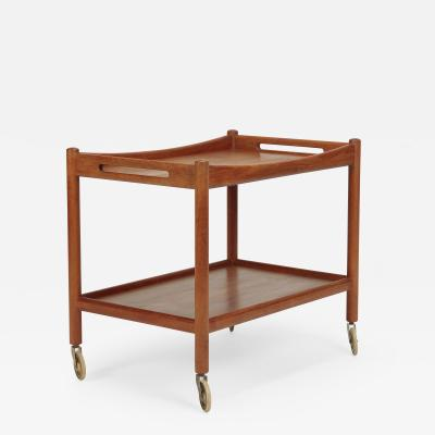Hans Wegner Hans Wegner Serving Trolley Andreas Tuck 45 teak wood 50s