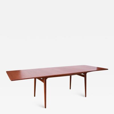 Hans Wegner Hans Wegner for Andreas Tuck Teak Extension Dining Table