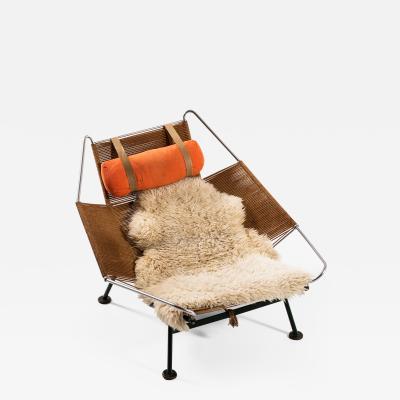 Hans Wegner Lounge Chair Flag Halyard Chair Produced by Getama