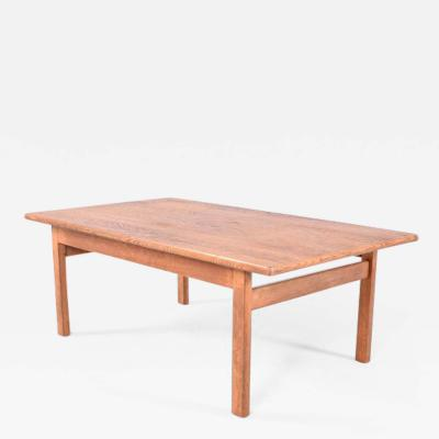 Hans Wegner Midcentury Oak Hans Wegner Coffee Table for GETAMA