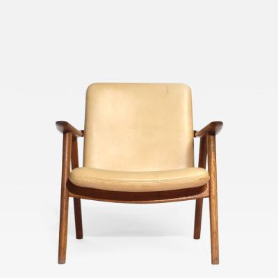 Hans Wegner Oak Reading Chair by Hans J Wegner