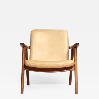 Hans Wegner Oak Reading Chair by Hans J Wegner