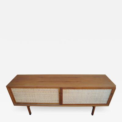 Hans Wegner Oak and Rattan Sideboard Model RY 26 by Hans Wegner for Ry M bler