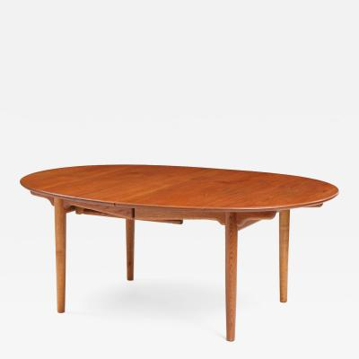 Hans Wegner Oval Extension Table