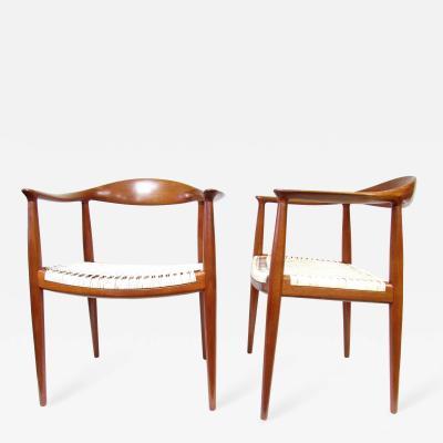 Hans Wegner Pair Hans Wegner The Chair