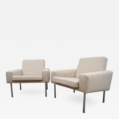 Hans Wegner Pair of Lounge Chairs Model AP34 by Hans Wegner for A P Stolen