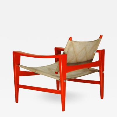 Hans Wegner Rare Easy Chair Bukkestole by Hans Wegner