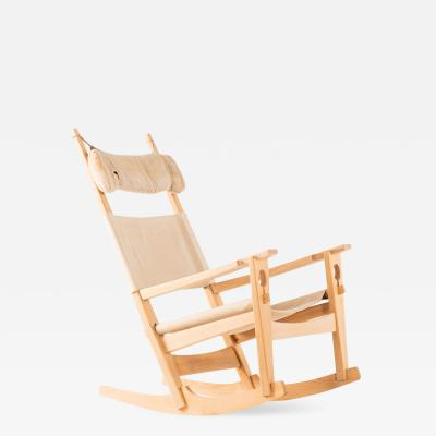 Hans Wegner Rocking Chair Model GE 273 Produced by Getema