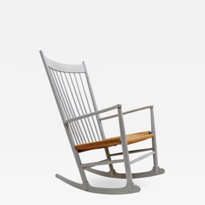 Hans Wegner Rocking Chair Model J16 by Hans J Wegner 1961