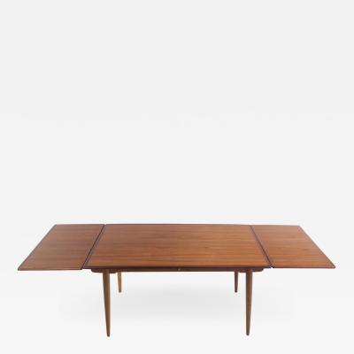 Hans Wegner Scandinavian Modern Teak Oak Dining Table Designed by Hans Wegner