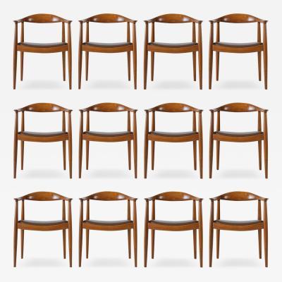 Hans Wegner Set of 12 Hans Wegner JH 503 Chairs