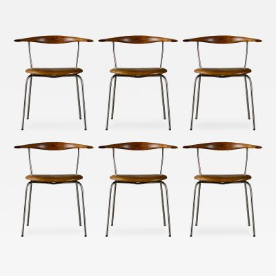 Hans Wegner Set of 6 Hans Wegner Dining Chairs