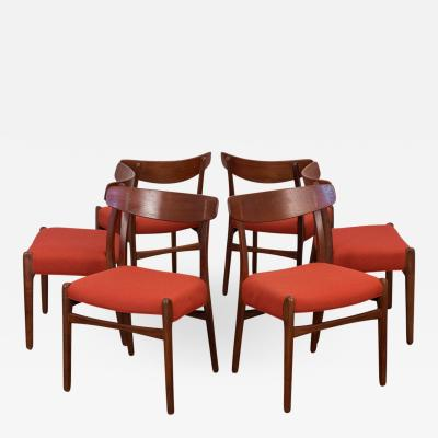 Hans Wegner Set of Six Hans J Wegner Ch 23 Dining Chairs