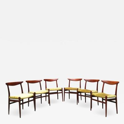 Hans Wegner W2 chairs by Hans Wegner by Madsens 1950s
