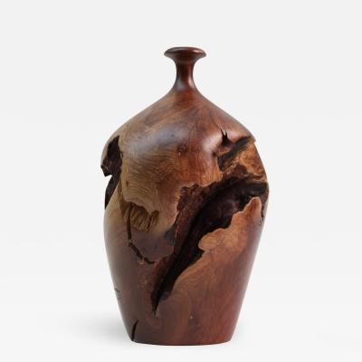 Hap Sakwa Vintage Signed HAP SAKWA Burl Wood Manzanita Vase