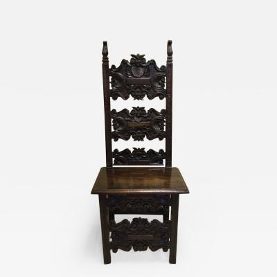 Harlequin Tuscan Walnut Chair