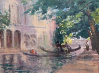 Harold Latham Morning Light Venice