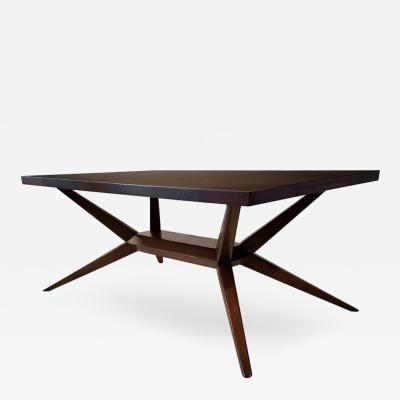 Harold M Schwartz Faceted Romweber Dining Table by Harold Schwartz
