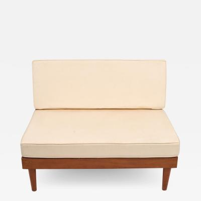 Harold Rockwood Harold Rockwood New Hope style mid century modern settee