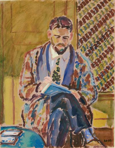 Harold Weston Man Sketching
