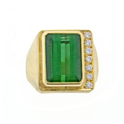 Haroldo Burle Marx Burle Marx Tourmaline and Diamond Ring
