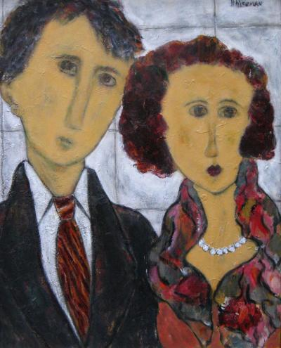 Harriet Wiseman The Couple Love is in his Eyes
